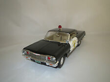 "Ertl/American Chevrolet  Impala  ""1964""  (Police Ankeny) 1:18  ohne Verpackung !"