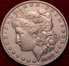 1882-CC Carson City Mint Silver Morgan Dollar