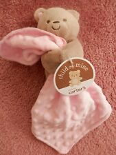 Baby Girl Lovey Blanket Bear New Nwt