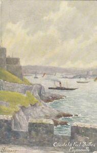 DEVON:  Citadel & Fort Battery,Plymouth -BANESS-RUDDOCK