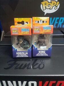 Godzilla VS Kong Godzilla and Kong Pocket POP Keychain INSTOCK