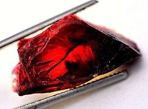 Sehr Selten Natürlich Rot Painite Grobem Nicht Erhitzt 27.90 Karat Burmese FACET