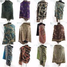 US SELLER- 12 scarves large winter warm retro butterfly paisley pashmina shawls