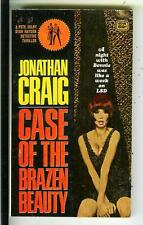 CASE OF THE BRAZEN BEAUTY by Craig, Gold Medal #1706 crime gga pulp vintage pb