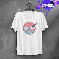 Nasa Design T-Shirt Natural Nasa Short Sleeve Unisex Tumblr T-Shirt Space TShirt