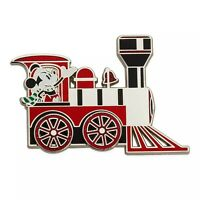 Disney Pin Mickey Mouse Train Moving Wheels Christmas Holiday 2019 New on Card