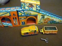 "Technofix ""COAL MINE"" 294, Tin Litho Wind Up Toy, made in Germany, 1959"
