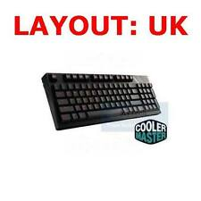 COOLER MASTER STORM QUICK FIRE TK, GRIP COATED BLUE MECHANICAL ENGLISH KEYBOARD