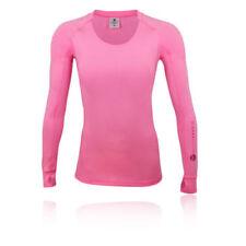 Abbigliamento sportivo da donna rosa manica lunga taglia L