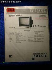 Sony Service Manual KV 2256EC Color TV (#4844)