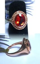 SCHMUCK-STCK RING 375 GOLD ANDESIN ANDALUSIT FACETTENREICH SOGNI D'ORO 18  754
