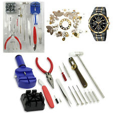 16 Pcs Watch Repair Professional Tool Kit Watch Strap Back Open Pin Removing Kit