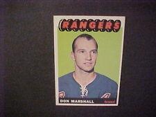 1965-66  TOPPS HOCKEY  #29 MARSHALL NM-MT