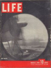 LIFE March 5,1945 The Pacific / Iwo Jima / Australian Drought / Jobs for All
