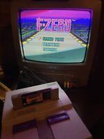 F-ZERO Super Nintendo SNES Game TESTED Working & AUTHENTIC Read Description