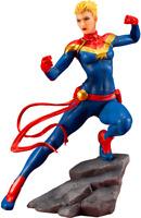 Marvel Comics Avengers Captain Marvel Statue ARTFX Series Kotobukiya Sideshow