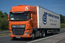 Truck Photos Conway Bailey Cornwall DAF 106XF & fridge WK68 AXJ  Charity Lot