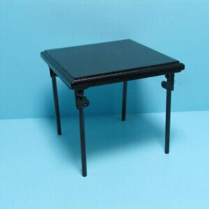 Dollhouse Miniature Folding Metal Card Table T4248
