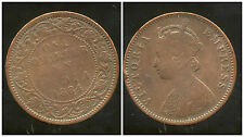 INDE    one quarter anna  1884