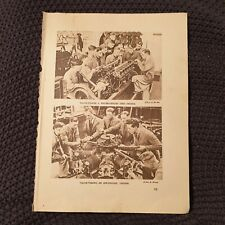 Valve-Timing A Water-Cooled & Air-Cooled Engine - 1940 Book Page