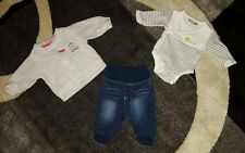 Baby Hose/Pullover/Body  Set, Gr.50