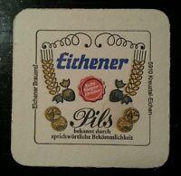 Historischer Bierdeckel der Eichener Brauerei in Kreuztal OT Eichen