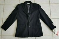 Vintage International Scene Blazer Jacket Wool 6P  Womens Wool BLACK