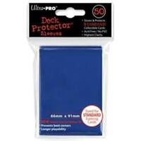 Ultra Pro Deck Protector Sleeves Tsunami Blue MTG Pokemon Sports Cards 50 /Pack