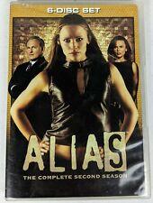 Alias - The Complete Second Season (DVD, 2009, 6-Disc Set)