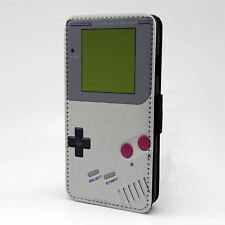 For Apple iPod Touch Flip Case Cover Vintage Gameboy - G1014