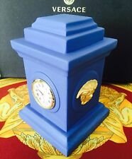 VERSACE GORGONA MEDUSA CLOCK WATCH CHIMNEY ROSENTHAL DESK OFFICE New retail $800