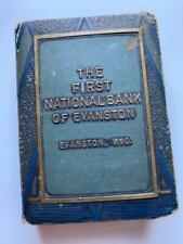 VINTAGE COIN ADVERTIZING BOOK BANK 1ST NATIONAL BANK EVANSTON WYOMING  F