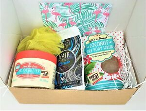 Bath & Body Hamper Gift Set - Tropical Woman's ladies For Her Birthday Gifts