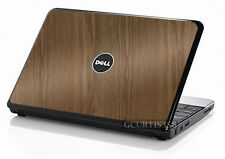 WOOD Vinyl Lid Skin Cover Decal fits Dell Inspiron Mini 10 Netbook
