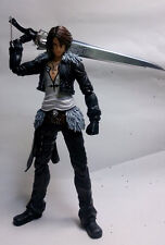 Authentic PlayArts Final Fantasy Dissidia Squall Leonhart Action Figure(no box)