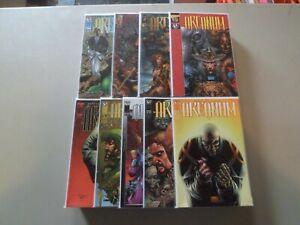 "1997 Arcanum (Image) COMPLETE RUN of 9 ""Comic Books"" (1/2,1-8)  BRANDON PETERSON"