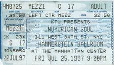 Nuyorican Soul 1997 Tour Concert Ticket Stub
