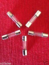 5 x Glass Fuse 2.5A T2.5A L250V 5mm x 20mm Slow Blow  *** FAST POST ***  ET2.5X5