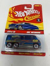 Hot Wheels Classics Series 3 GMC Motorhome (Blue)
