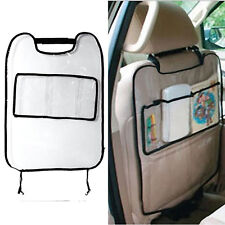 Practical Car Auto Seat Back Protector Cover For Children Kick Bag Storage Mat