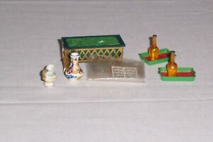 Vintage Lot 8 Accessories for IDEAL Petit Princess Dollhouse Furniture