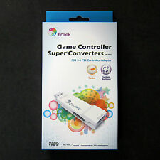Brook PS3 Controller Adapter for PS4 to Console  No Need Original PS4 Controller