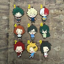 My Hero Academia Boku no hero academia Animate Rubber Strap Keychain Charm Gift