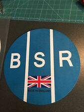 "BSR Birmingham reproductores de sonido 12"" o 7"" PRO DJ PLATO Giratorio Plato estera de fieltro"