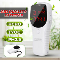 Air Quality Monitor HCHO TVOC PM2.5 PM10 Formaldehyde Detector Tester Home Test