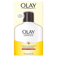 Olay Complete All Day Moisture SPF Skin Cream 6oz EXP: 11/2021& Up