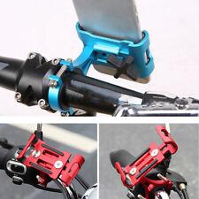 JP_ Aluminum Motorcycle Bike Bicycle Phone Holder Mount Handlebar GPS Universa