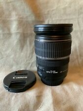 Canon EF - 17-55mm F/2.8 Lente IS USM S En Perfectas Condiciones