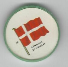 1963 General Mills Flags of the World Premium Coins #59 Denmark