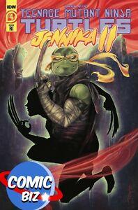 TMNT JENNIKA II #4 (2021) 1ST PRINTING 1:10 VARIANT COVER IDW COMICS ($4.99)
